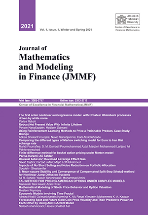 Journal of Mathematics and Modeling in Finance